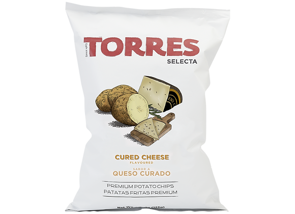 Torres cured Cheese Potato Crisps 150g