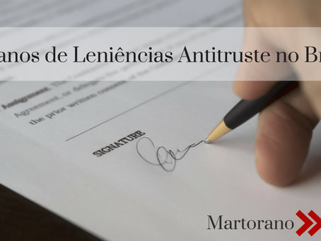15 anos de leniências antitruste no Brasil | 15 years of antitrust leniencies in Brazil
