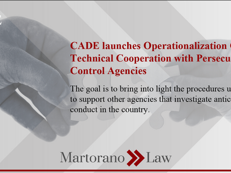 CADE launches Operationalization Guide for Technical Cooperation with Persecution and Control Agency