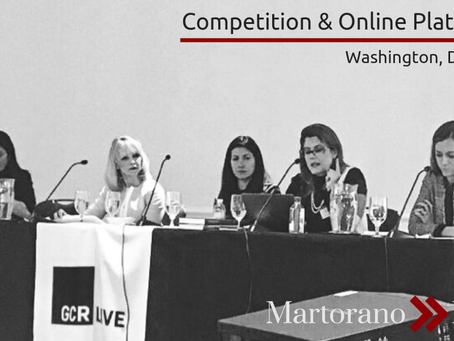 Luciana Martorano spoke about Competition & Online Platforms at the GCR Live 2nd Annual Women i