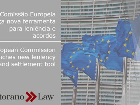 Comissão Europeia lança nova ferramenta para leniência e acordos | European Commission launches new