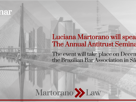 Luciana Martorano will speak at the OAB-SP CECORE Annual Seminar
