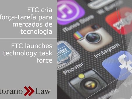 FTC cria força-tarefa para mercados de tecnologia | FTC launches technology task force