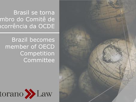 Brasil agora é membro no Comitê de Concorrência da OCDE | Brazil becomes member of OECD Competition