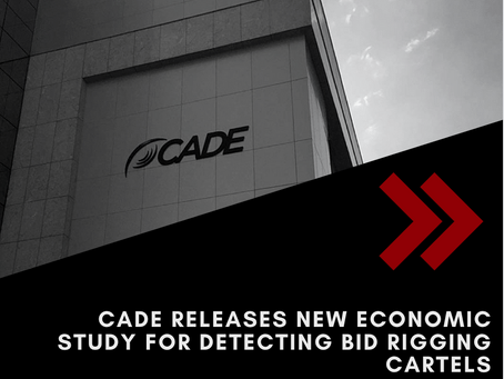 CADE's Department of Economic Studies launches an economic study to detect bid rigging cartels