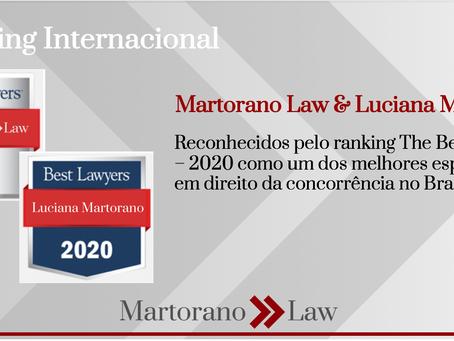 Martorano Law e Luciana Martorano reconhecidos pelo ranking internacional Best Lawyers