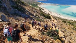 Kreta - pohodniški odklop v jesenskem času