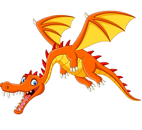 cartoon-dragon-flying-white-background_2