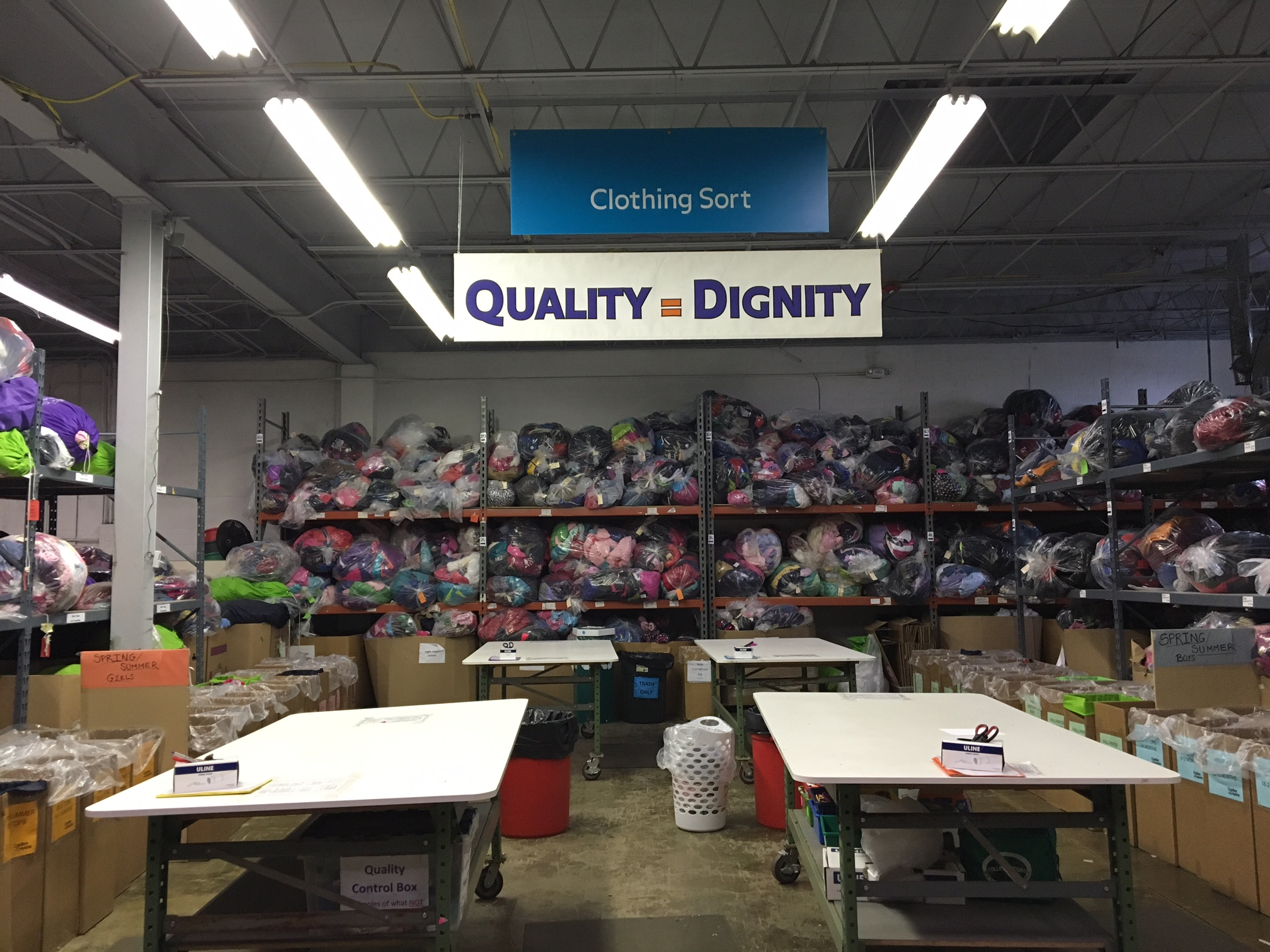 Quality = Dignity