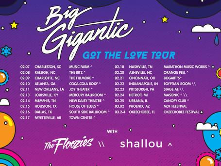Got The Love Tour - Feb 2018!