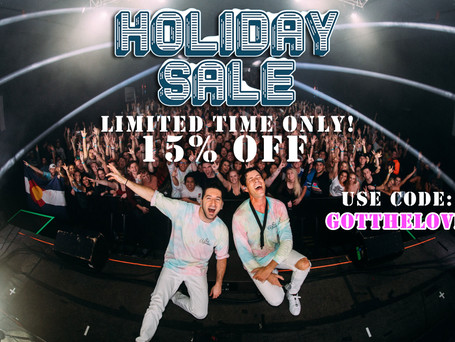 Holiday Merch Sale!