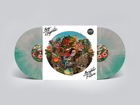 New LE Teal Tie-Dye Vinyl Up For Pre-Order!