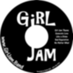 GirlJam CD Label