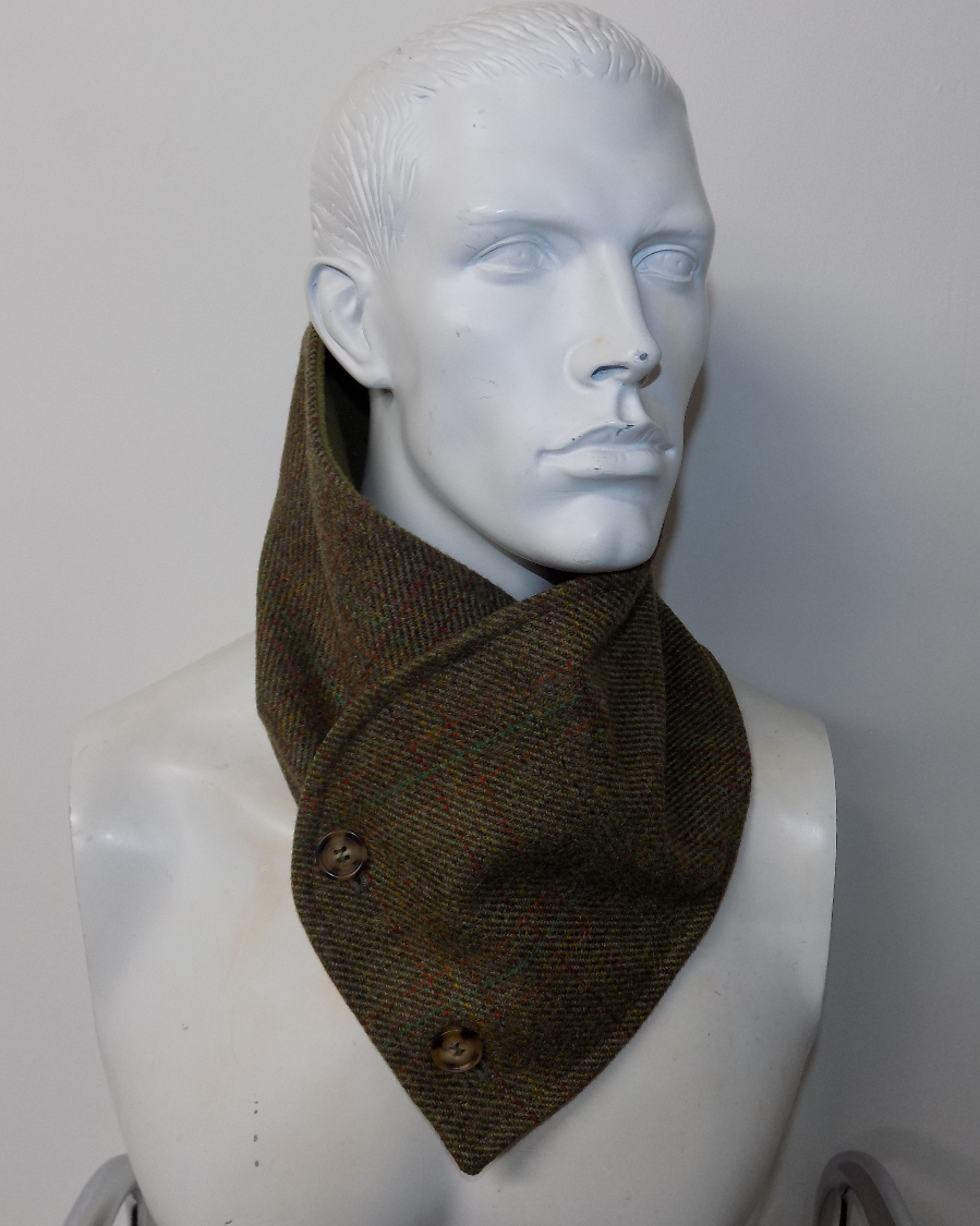 Tweed Men's Snood Scarfs