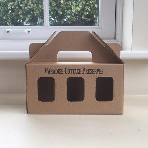 Gift Box of Three Large Jars