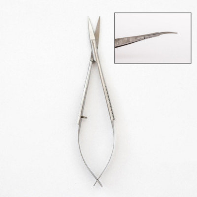 Squeeze Scissors Curved