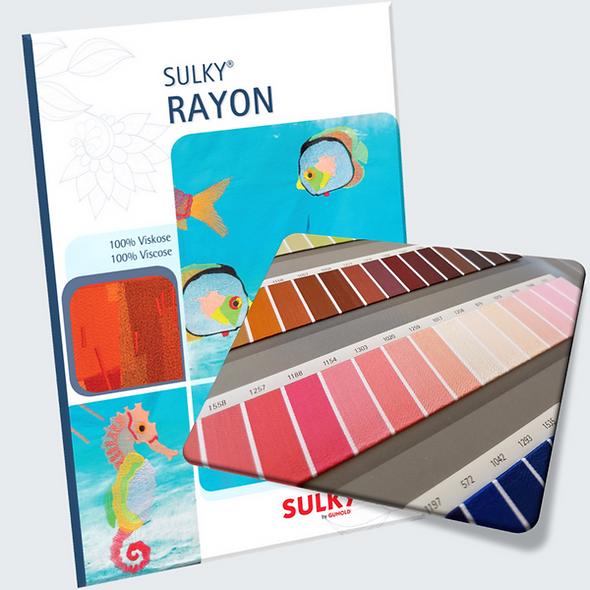 Sulky Rayon Colour Card