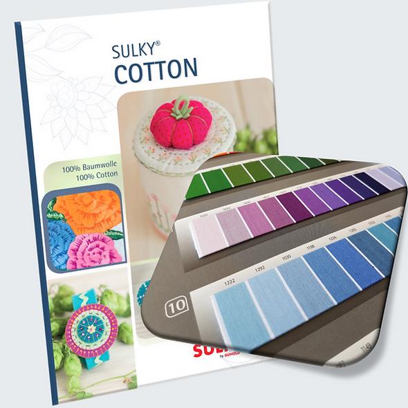 Sulky Cotton Colour Card