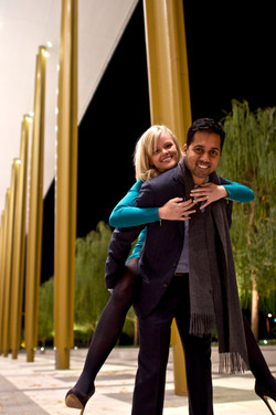 Rahul And Emily Engagement Photos