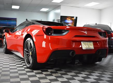 Severely Damaged BRAND NEW Ferrari