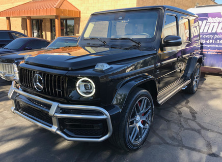 Brand new redesigned G-Wagon made even better with Paint Correction and Ceramic Coating