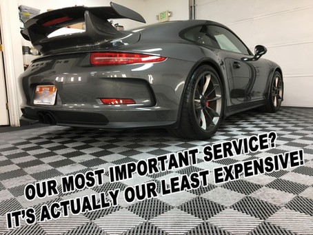 Our entry-level service is the least expensive, but may be the most important!