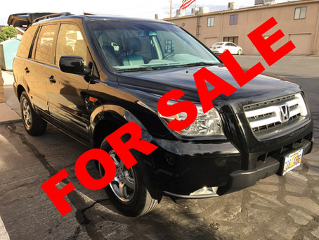 Preparing your vehicle for sale!