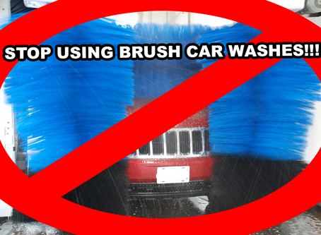Why you should NEVER drive through a car wash again!
