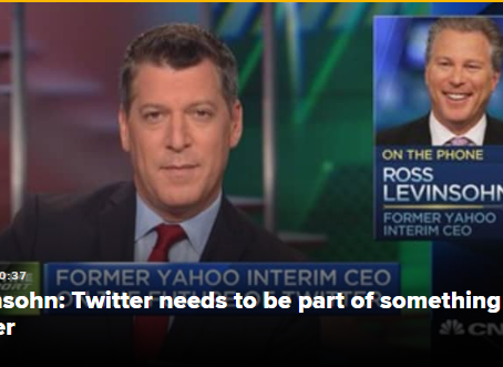 Google or Apple likely to buy Twitter, former Yahoo CEO Ross Levinsohn says