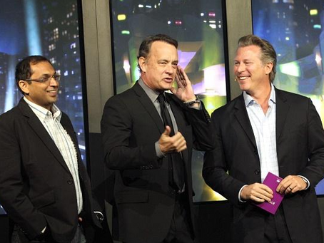 Tom Hanks and Yahoo! are 'Electric' at CES