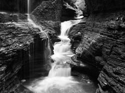 12 - Watkins Glen - 18 x 24 - Deep Matte Print - White Matte & Black Frame