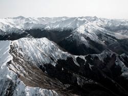 10 - Milford Sound Mountain Range NZ - 18 x 24 - Metallic Print - Thick Black Frame