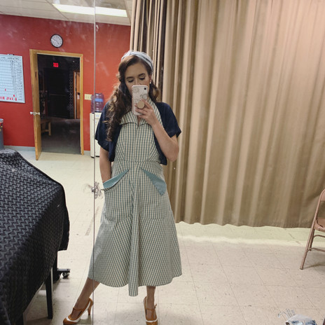 Backstage at All My Sons