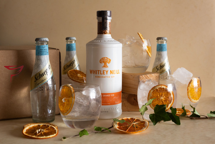 Whitley Niell Blood Orange Gin Party Box