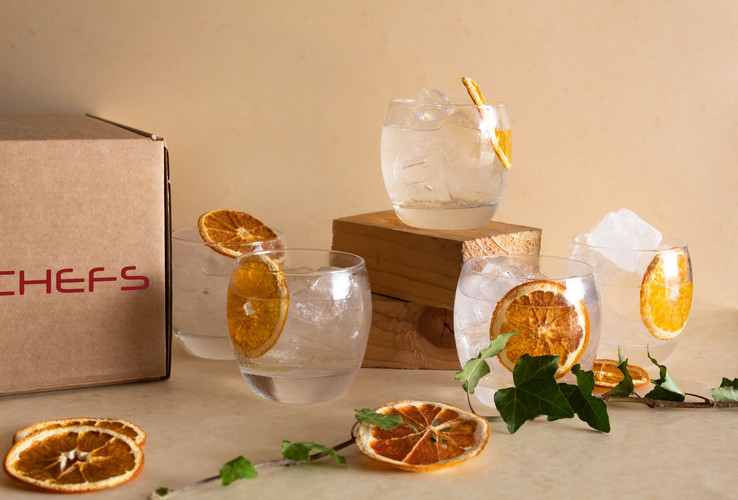 Whitley Niell Blood Orange Gin and Tonic Party Box