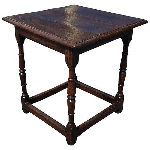 18th Century Welsh Oak Tavern Table