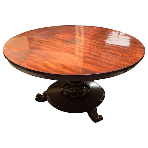 19th Century English William IV Mahogany Table