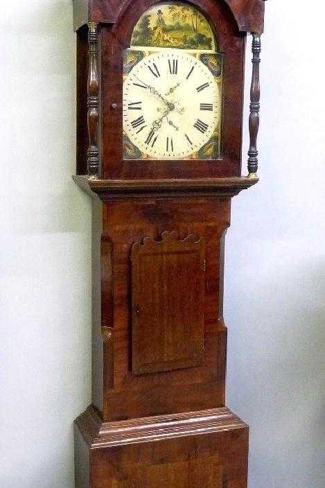 George III tall case clock