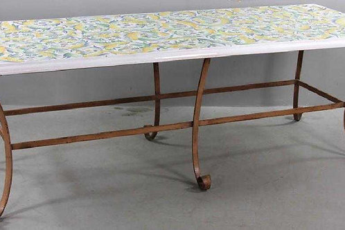 Italian handpainted long table