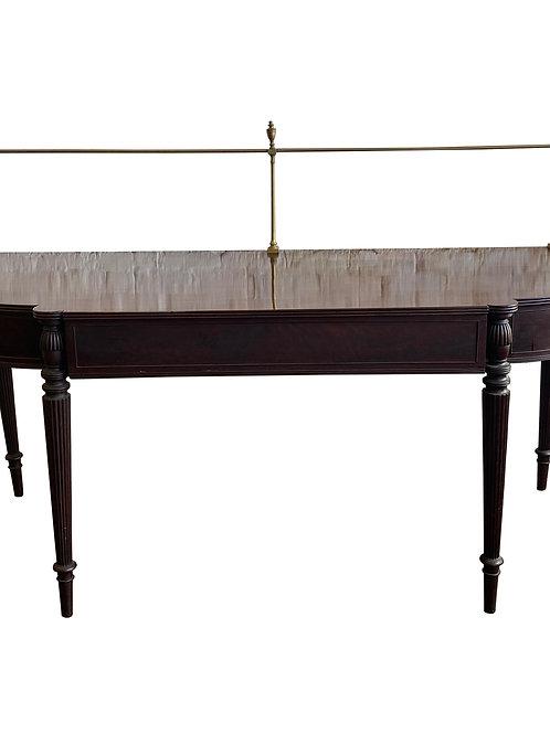 18th Century Georgian Mahogany Sideboard with Brass Rail