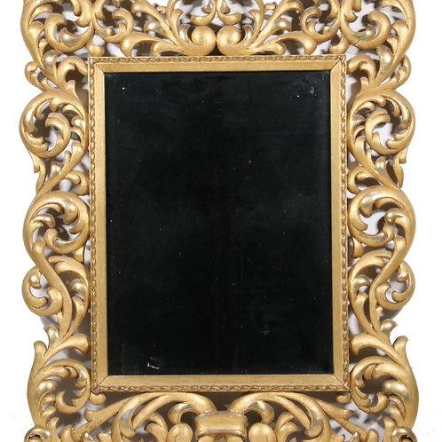 Antique Italian Gilt Mirror