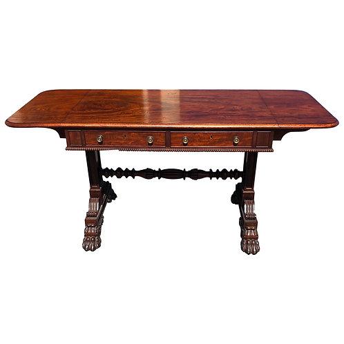 Fine 19th Century English Regency Mahogany Sofa Table by Gillows