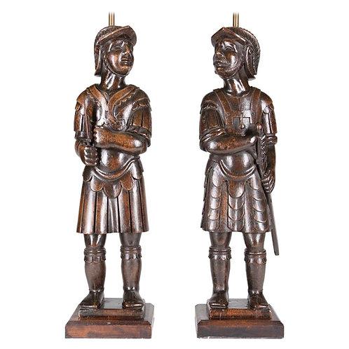 English Warrior Lamps