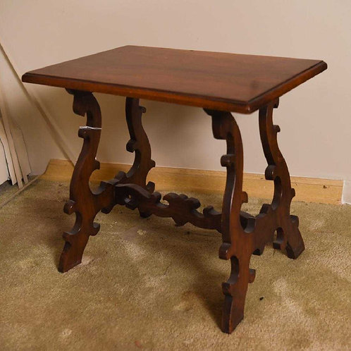Spanish style side table