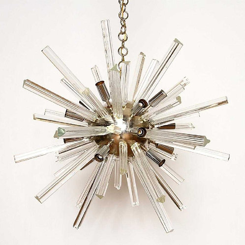 Midcentury Sputnik style chandelier(2 available- priced Each)