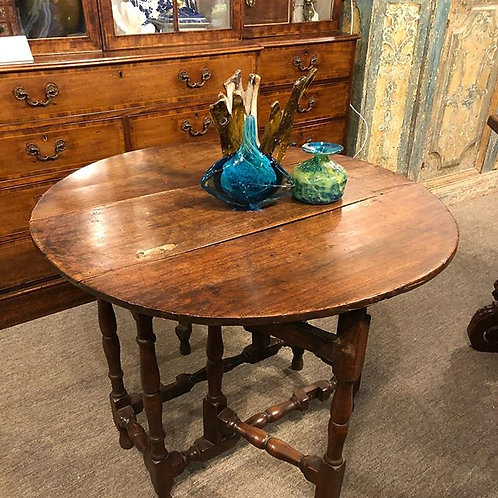 Early 18th Century Southern Walnut Table