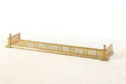 Classical brass fire fender