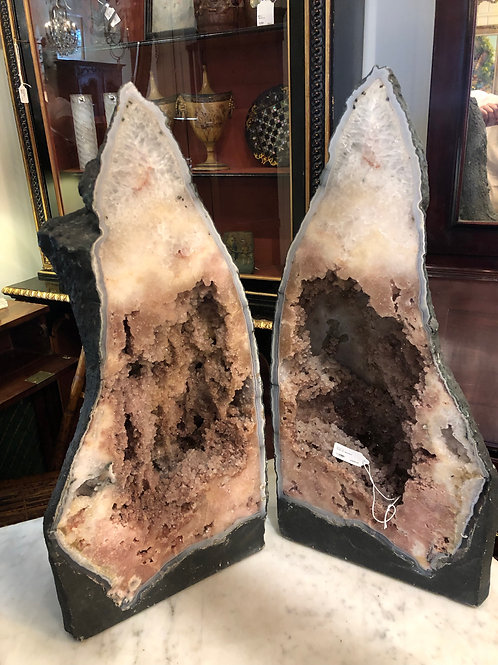 Great pair of Cathedral Geodes