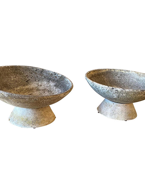 "Pair of Adjustable Willy Guhl ""Vasque"" Planters"