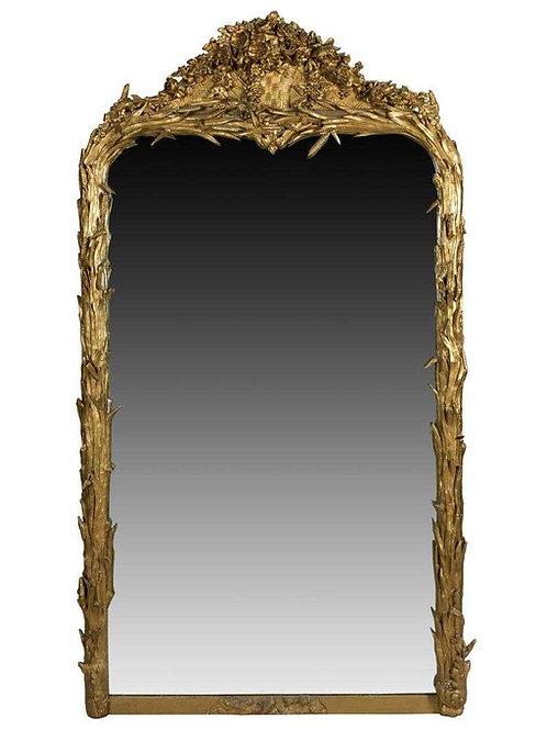 Gold Gilt Pier Mirror